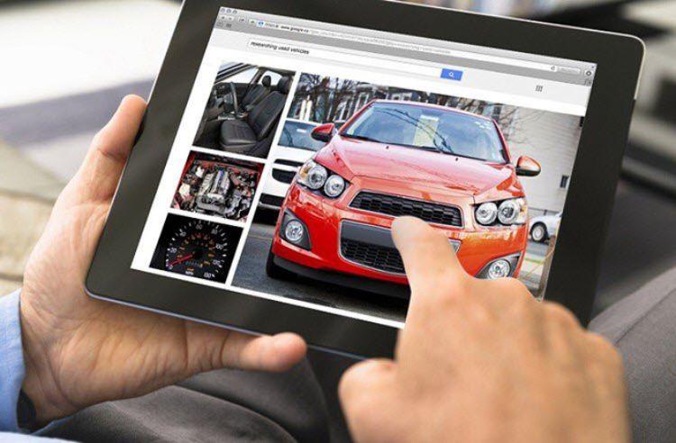 nơi mua bán ô tô trực tuyến
